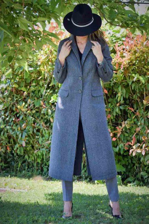 Классическое пальто из шерсти