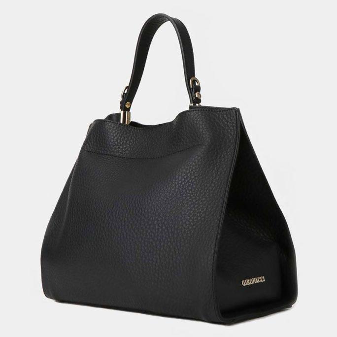 Классическая сумка GIRONACCI из натуральной кожи