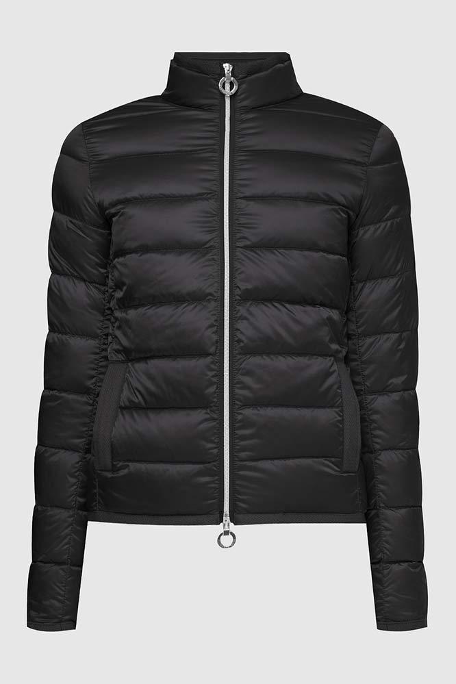 Черная короткая куртка